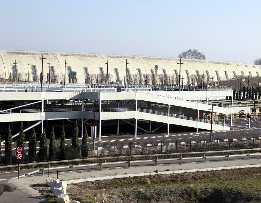gare de TGV d'Avignon